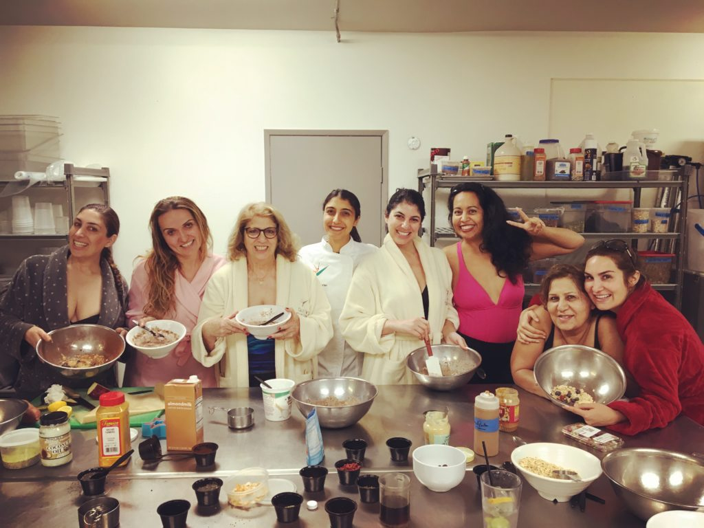 Glen Ivy Hot Springs Spa California Plant Based Cooking Class with Guest Chef Sarah Safarian