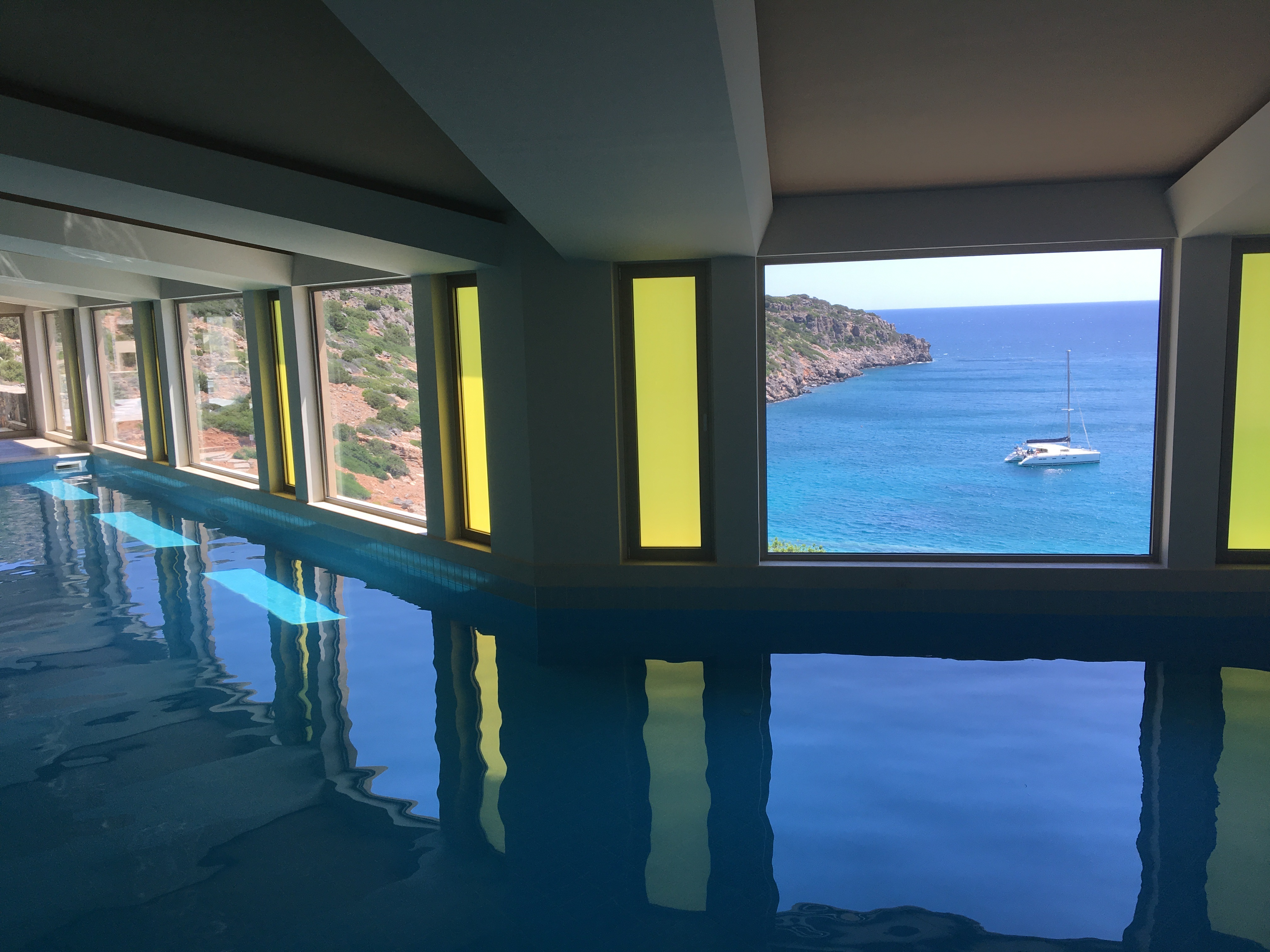 Daios Cove luxury resort and villas Crete, Greece, Goco Spa