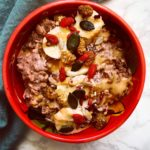 Chocolate PB overnight oats